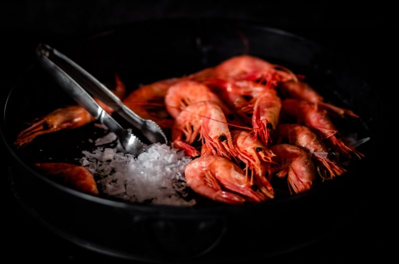 Shrimp with Garlic & Chillies
