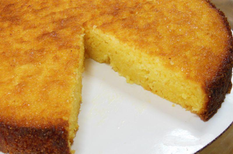 Boozed Up Citrus Cornmeal Cake